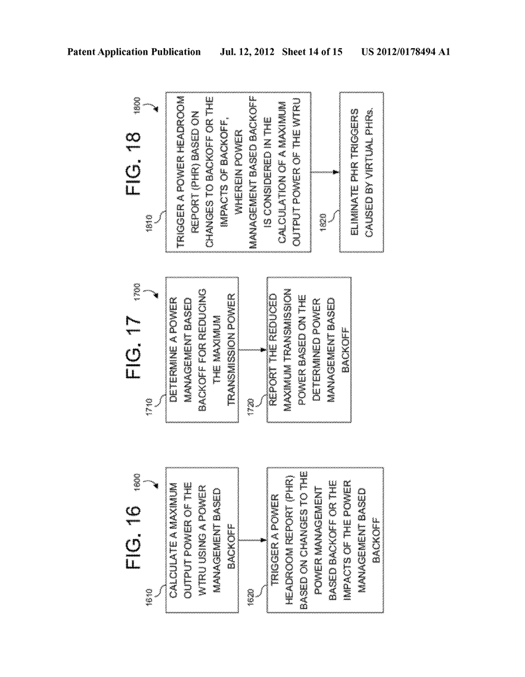 METHODS, APPARATUS AND SYSTEMS FOR HANDLING ADDITIONAL POWER BACKOFF - diagram, schematic, and image 15