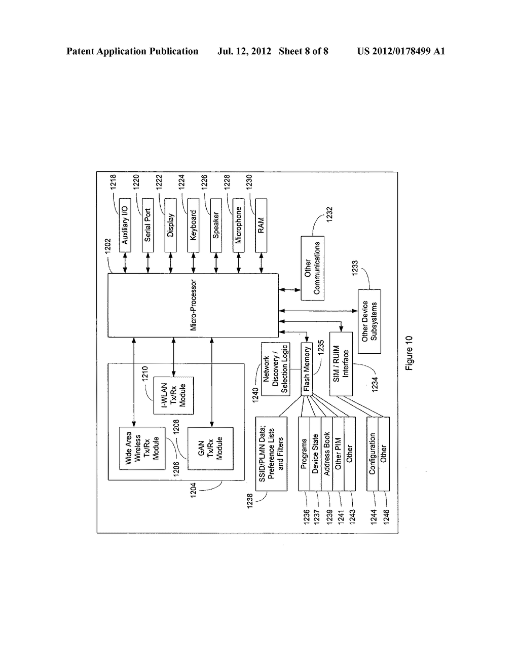 SYSTEM AND METHOD OF HANDSET CONFIGURATION BETWEEN CELLULAR AND PRIVATE     WIRELESS NETWORK MODES - diagram, schematic, and image 09
