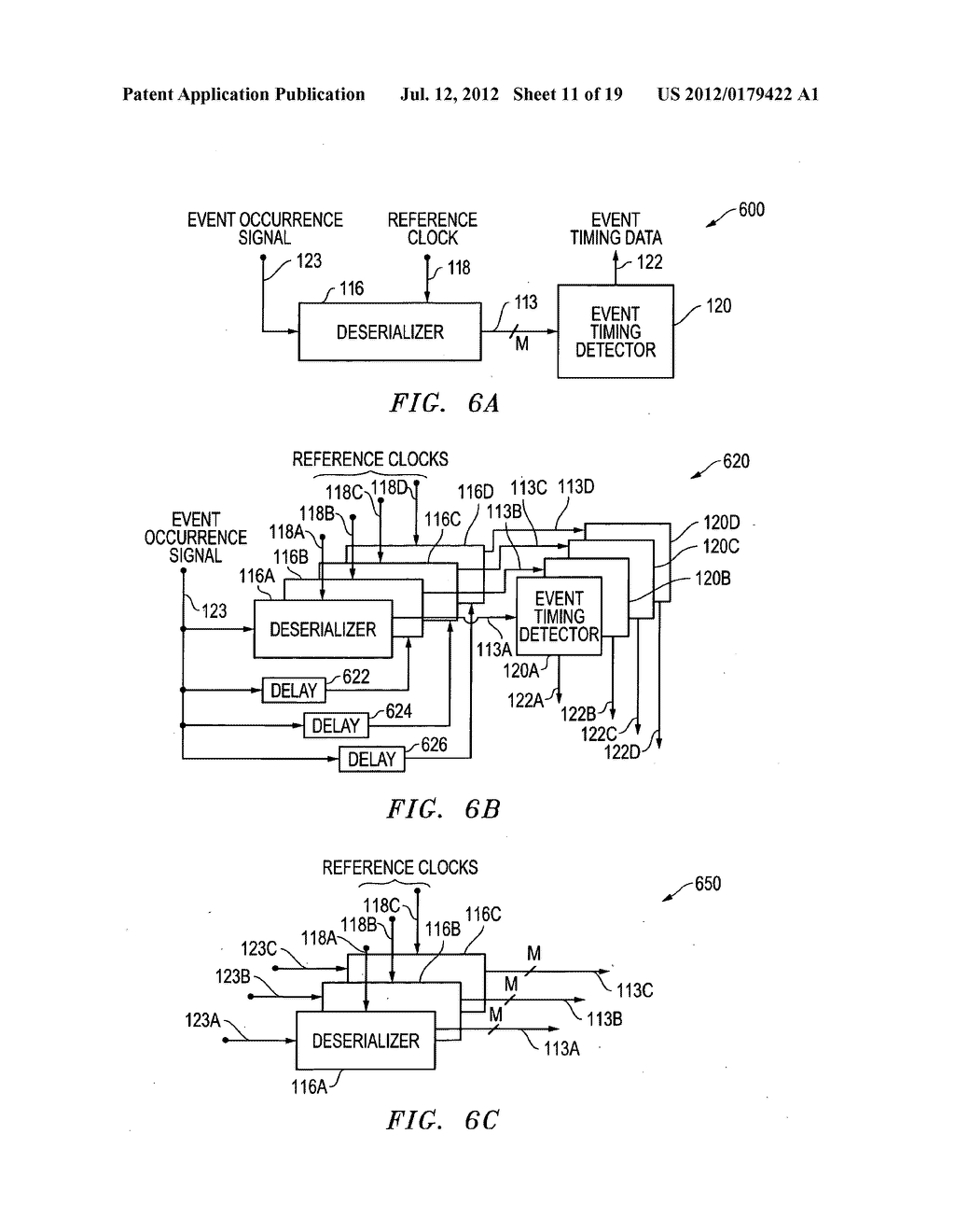Systems and methods for precise timing measurements using high-speed     deserializers - diagram, schematic, and image 12