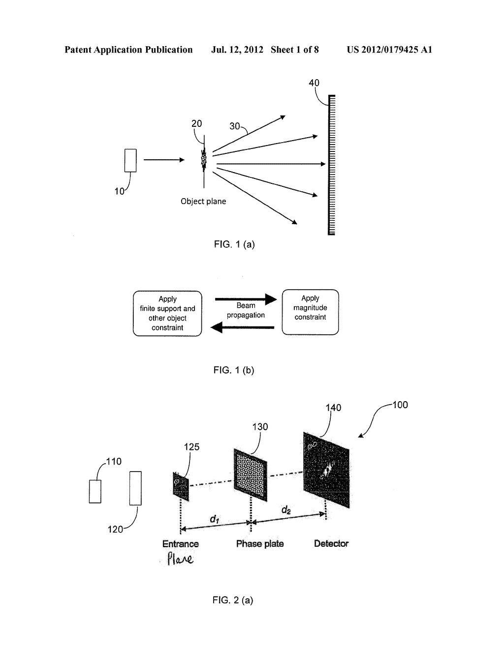 METHOD AND APPARATUS FOR RETRIEVING A PHASE OF A WAVEFIELD - diagram, schematic, and image 02
