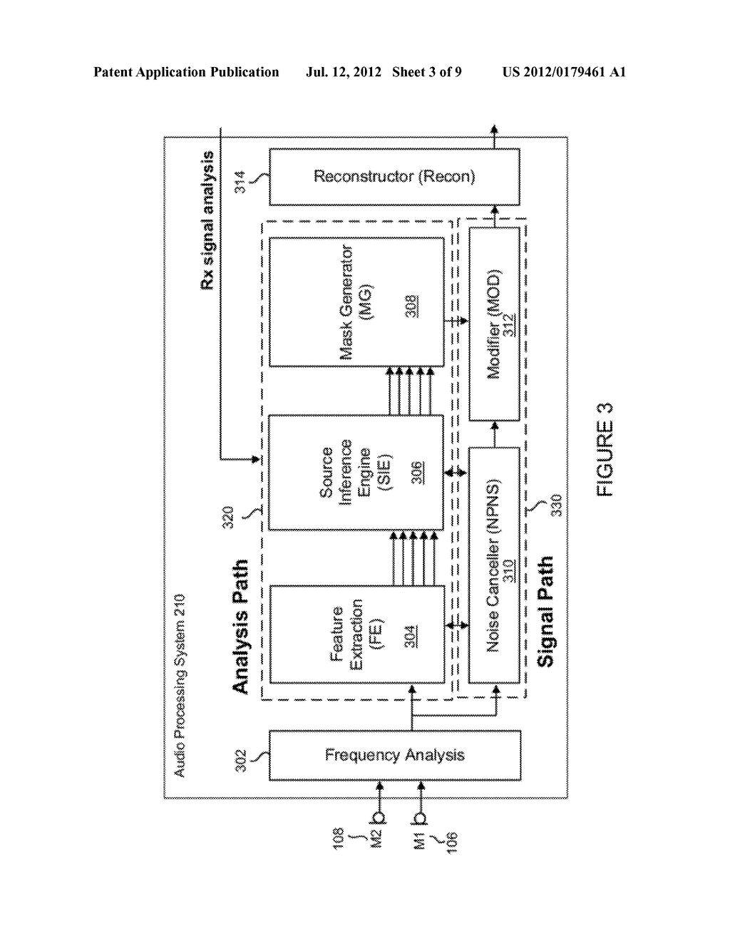 METHOD FOR JOINTLY OPTIMIZING NOISE REDUCTION AND VOICE QUALITY IN A MONO     OR MULTI-MICROPHONE SYSTEM - diagram, schematic, and image 04