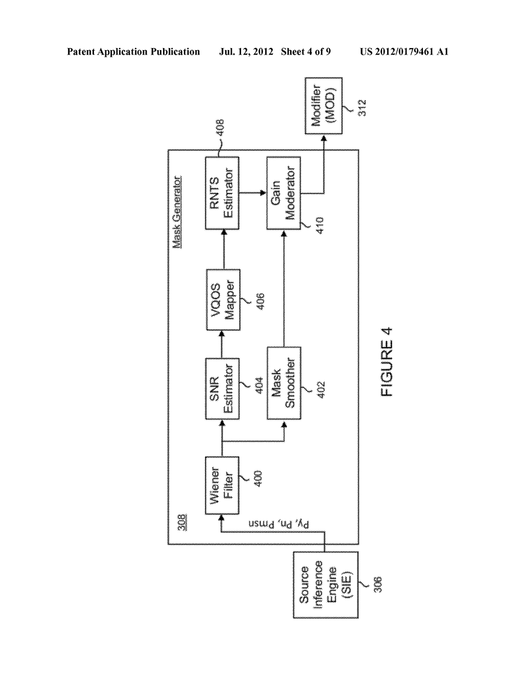 METHOD FOR JOINTLY OPTIMIZING NOISE REDUCTION AND VOICE QUALITY IN A MONO     OR MULTI-MICROPHONE SYSTEM - diagram, schematic, and image 05