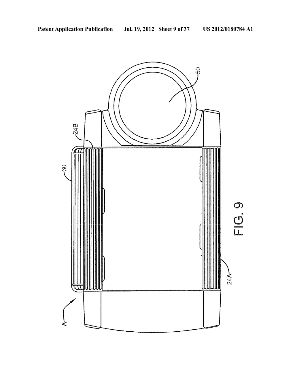 Gas-Fired Portable Unvented Infrared Heater - diagram, schematic, and image 10
