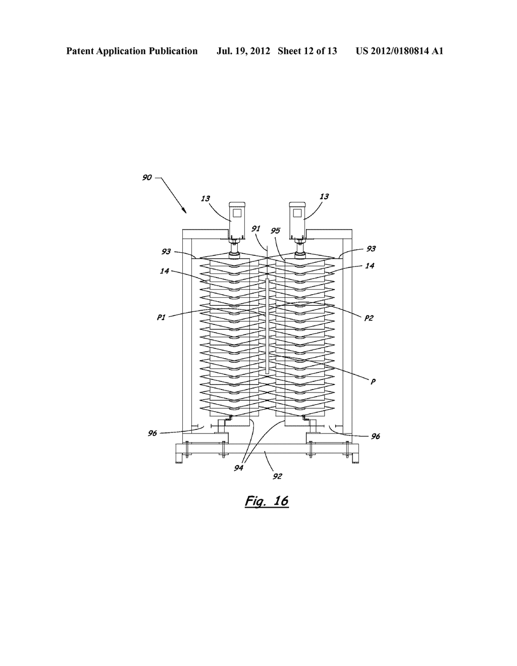 DEVICE AND METHOD FOR REMOVING FINE PARTICLES FROM PARTS - diagram, schematic, and image 13