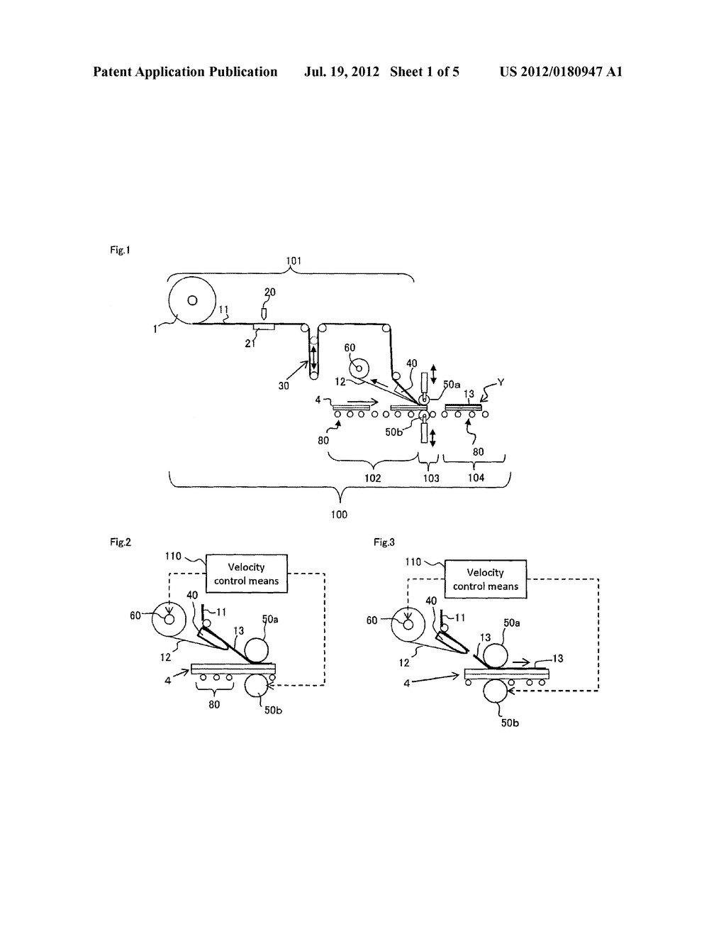 METHOD FOR CONTINUOUSLY MANUFACTURING LIQUID CRYSTAL DISPLAY DEVICE - diagram, schematic, and image 02