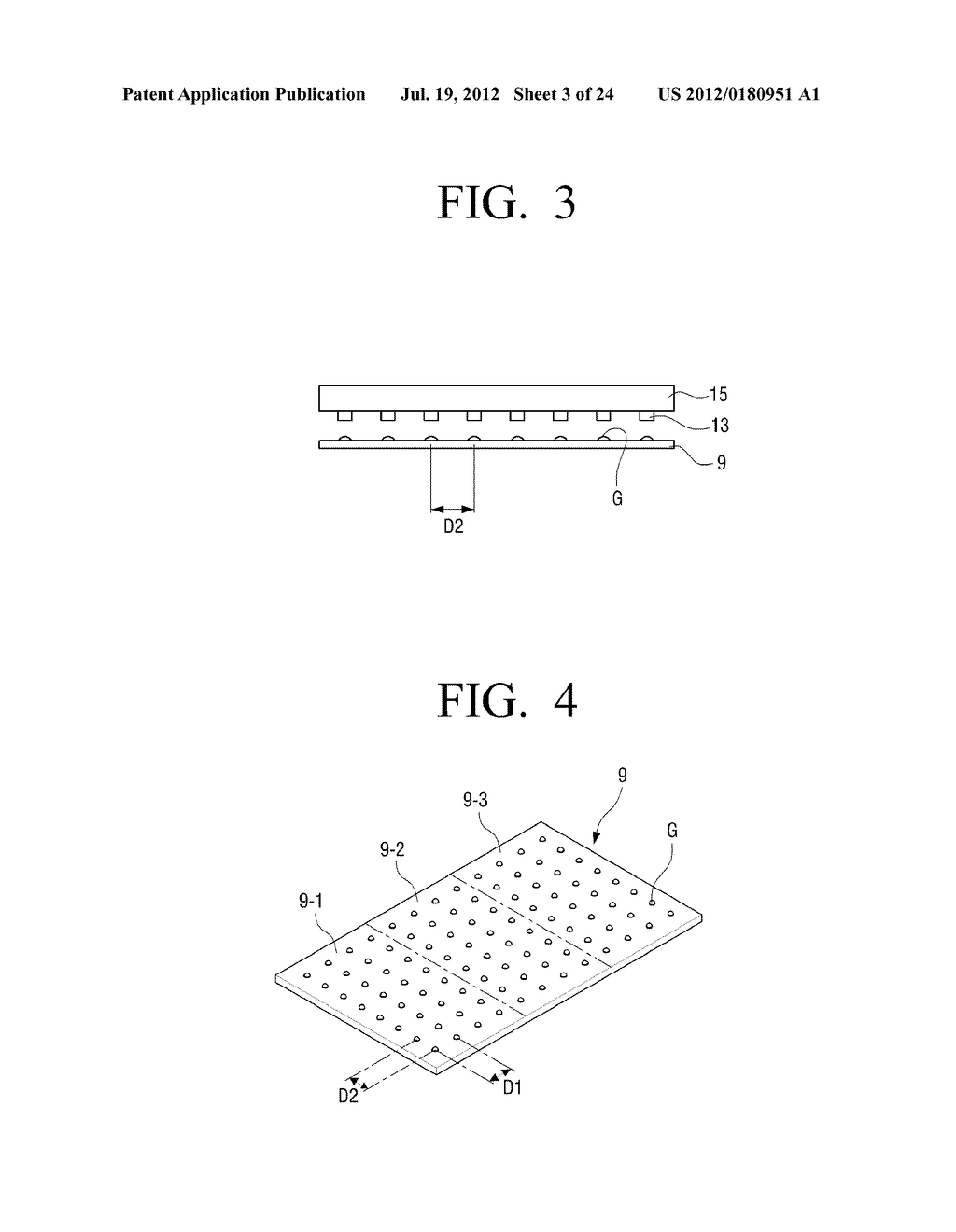 AUTOMATIC SPACERS MOUNTING SYSTEM FOR FIELD EMISSION DISPLAY AND METHOD OF     AUTOMATICALLY MOUNTING SPACERS - diagram, schematic, and image 04