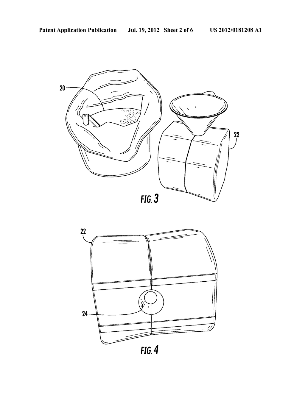 ARTICLE AND METHOD FOR SPREADING A SUBSTANCE ABOUT A SURFACE - diagram, schematic, and image 03