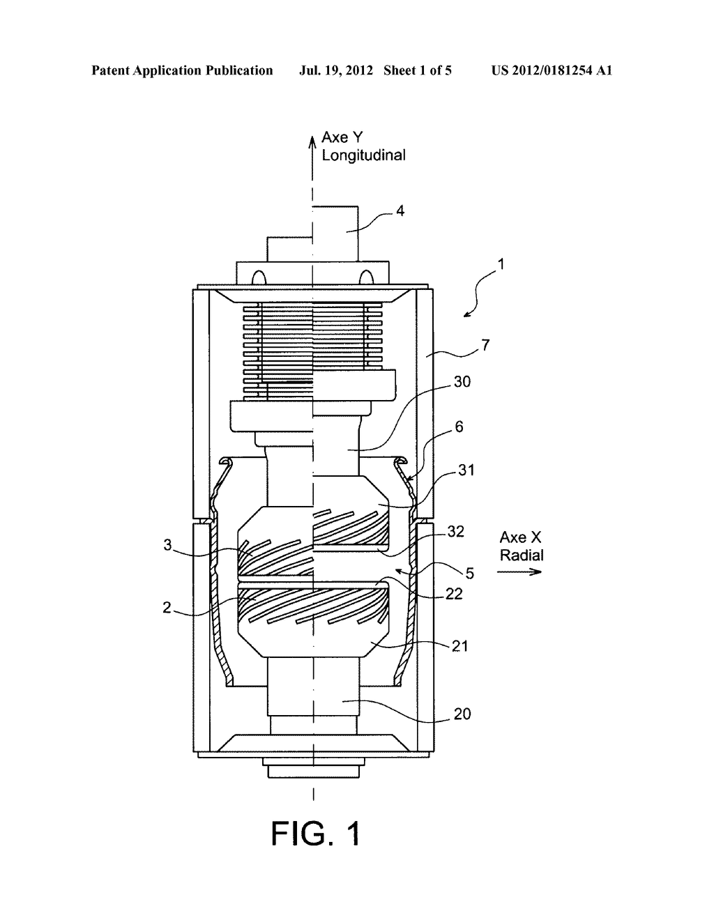 Winding For A Contact Of Medium Voltage Vacuum Circuit Breaker Generator With Improved Arc Extinction And An Associated