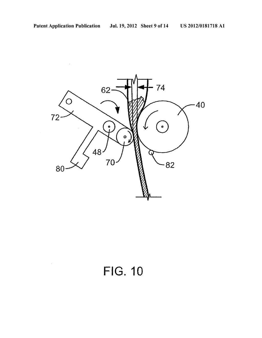 Method for Making Foam-In-Place Cushions With Selective Distribution of     Foam - diagram, schematic, and image 10