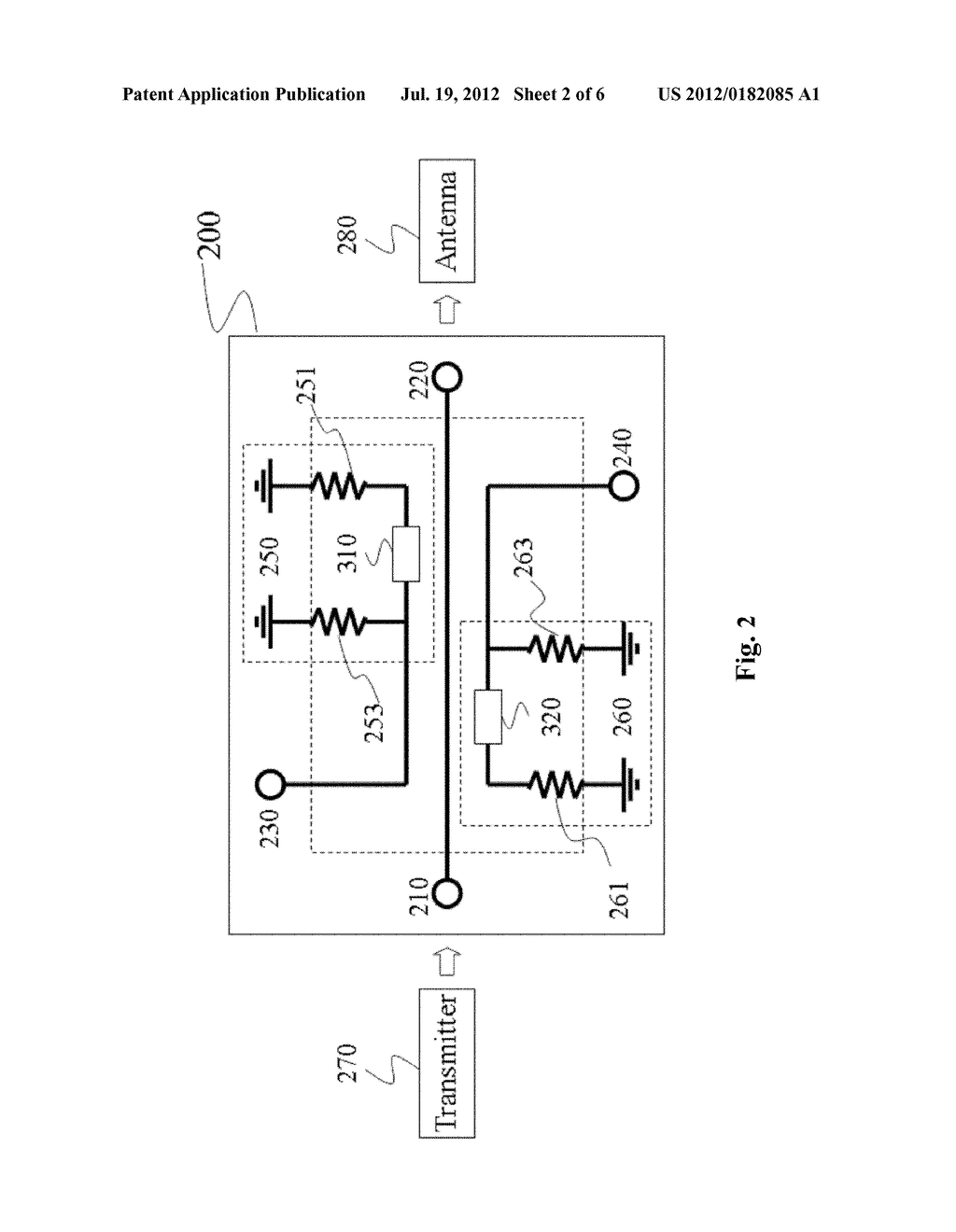 terminal circuit and bi-directional coupler using the terminal circuit -  diagram, schematic, and image 03