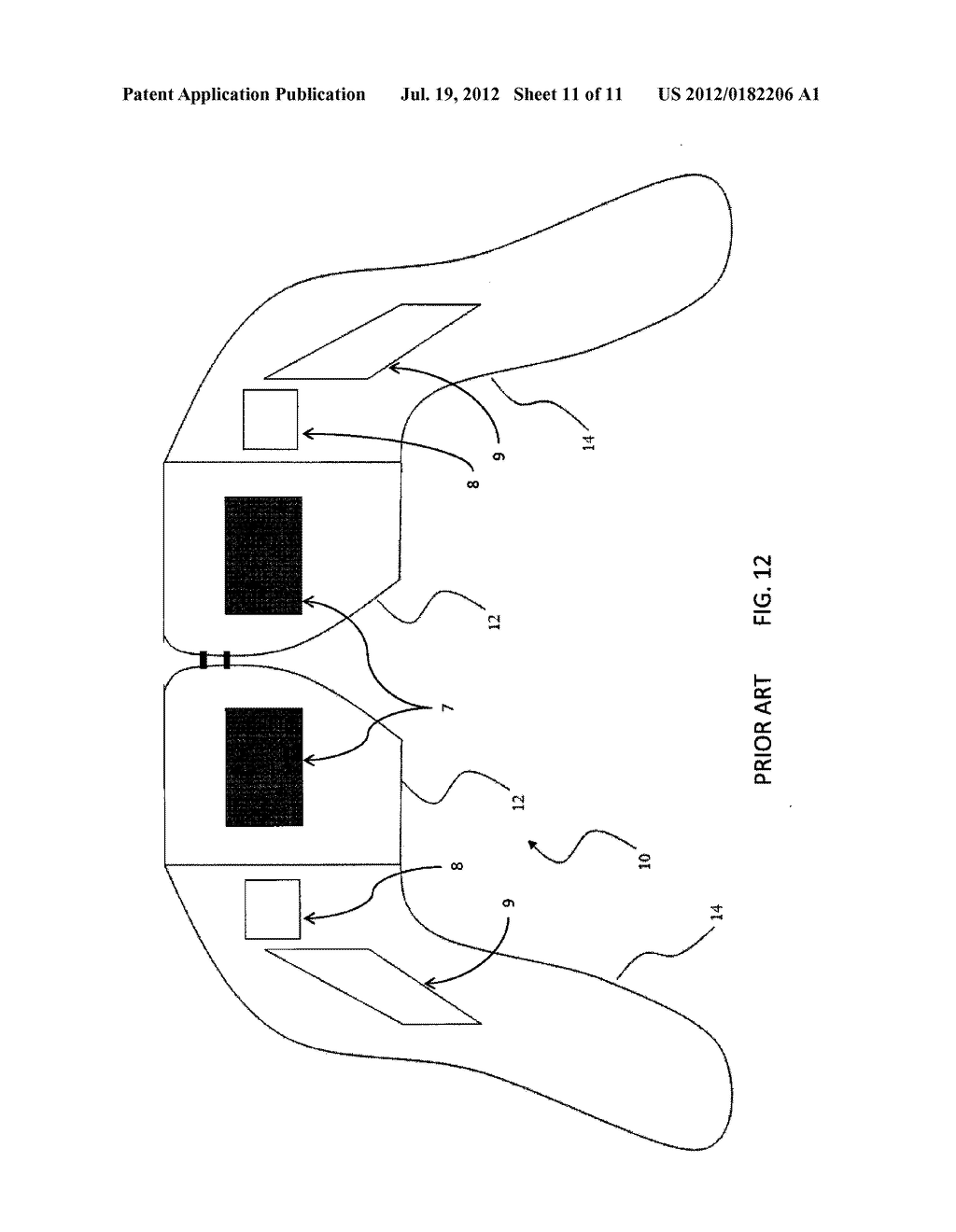 HEAD-MOUNTED DISPLAY CONTROL WITH SENSORY STIMULATION - diagram, schematic, and image 12