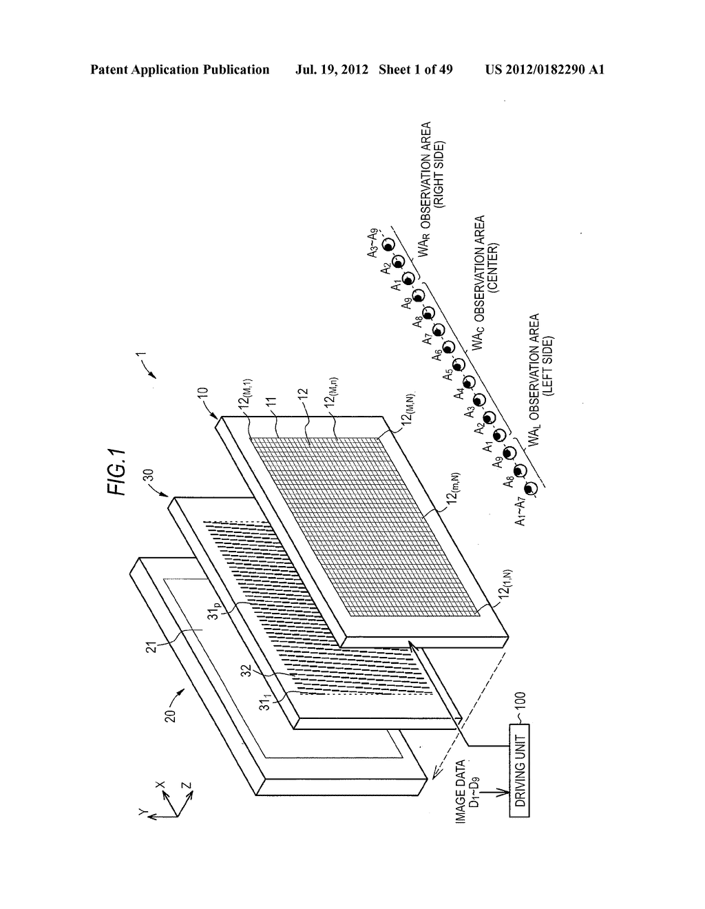 STEREOSCOPIC IMAGE DISPLAY DEVICE - diagram, schematic, and image 02