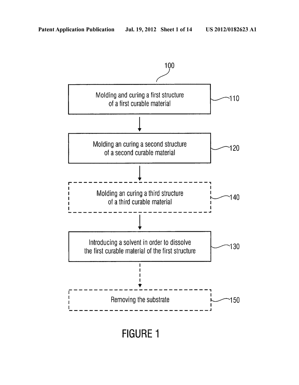 Method for Manufacturing a Structure, Optical Component, Optical Layer     Stack - diagram, schematic, and image 02