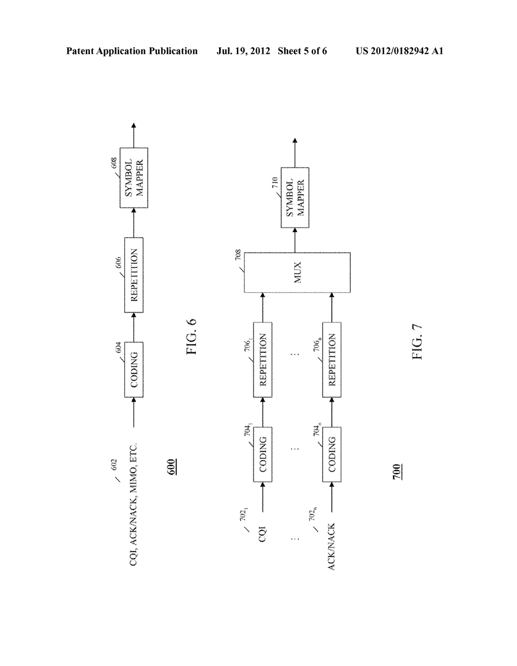 METHOD AND APPARATUS FOR TRANSMISSION OF UPLINK CONTROL SIGNALING AND USER     DATA IN A SINGLE CARRIER ORTHOGONAL FREQUENCY DIVISION MULTIPLEXING     COMMUNICATION SYSTEM - diagram, schematic, and image 06