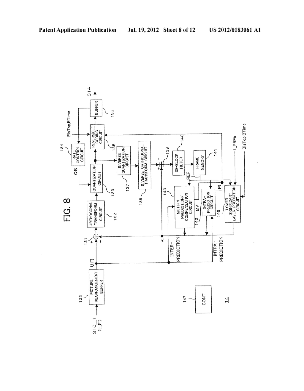 Apparatus and Method for Decoding Picture Data - diagram, schematic, and image 09