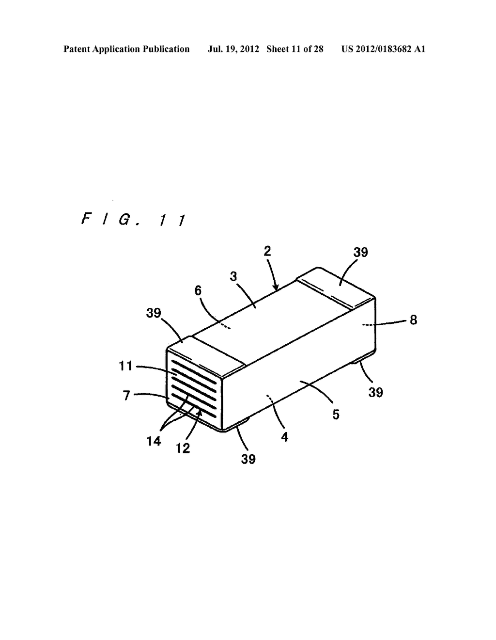 MULTILAYER CERAMIC ELECTRONIC COMPONENT AND MANUFACTURING METHOD THEREOF - diagram, schematic, and image 12