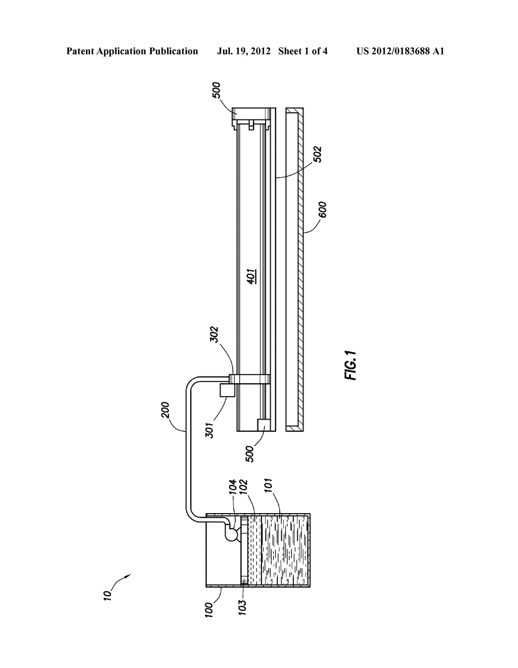 METHOD OF COATING A POROUS SUBSTRATE WITH A THERMOPLASTIC MATERIAL FROM     THE OUTSIDE OF THE SUBSTRATE - diagram, schematic, and image 02