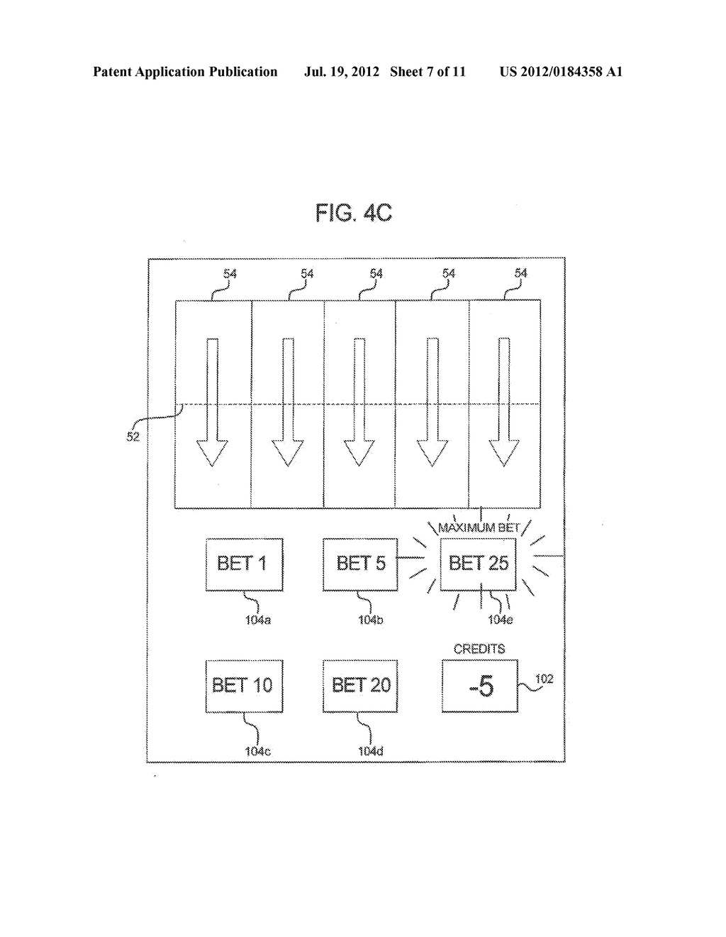 GAMING SYSTEM AND METHOD FOR PROVIDING ENHANCED WAGERING OPPORTUNITIES - diagram, schematic, and image 08