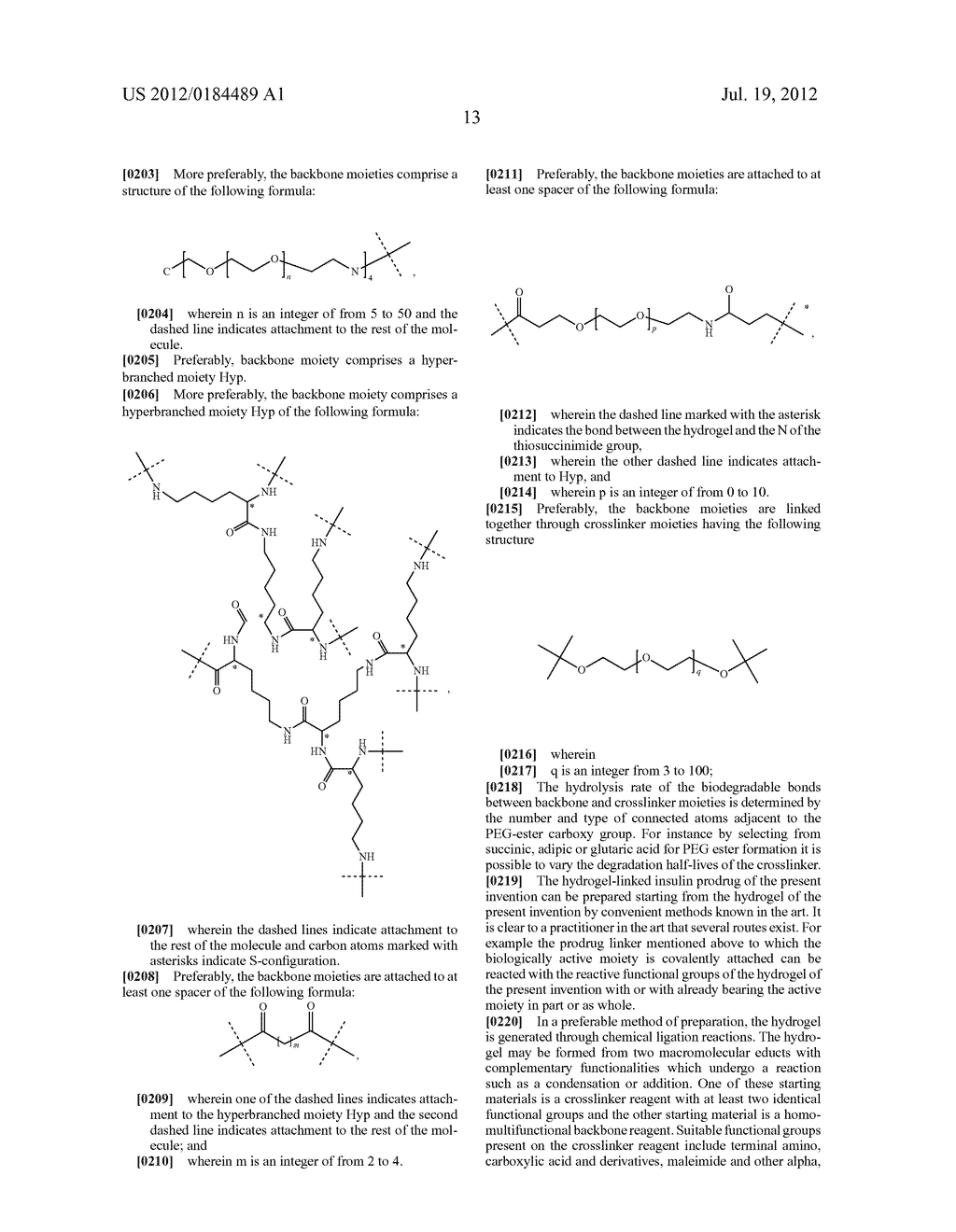 PRODRUGS COMPRISING AN INSULIN LINKER CONJUGATE - diagram, schematic, and image 24