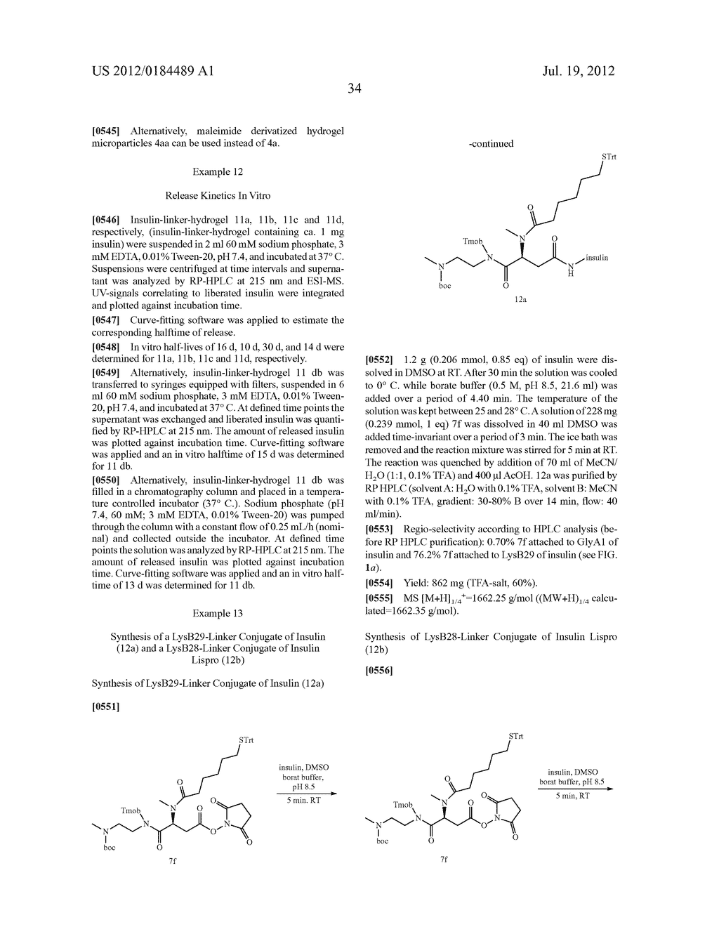 PRODRUGS COMPRISING AN INSULIN LINKER CONJUGATE - diagram, schematic, and image 45