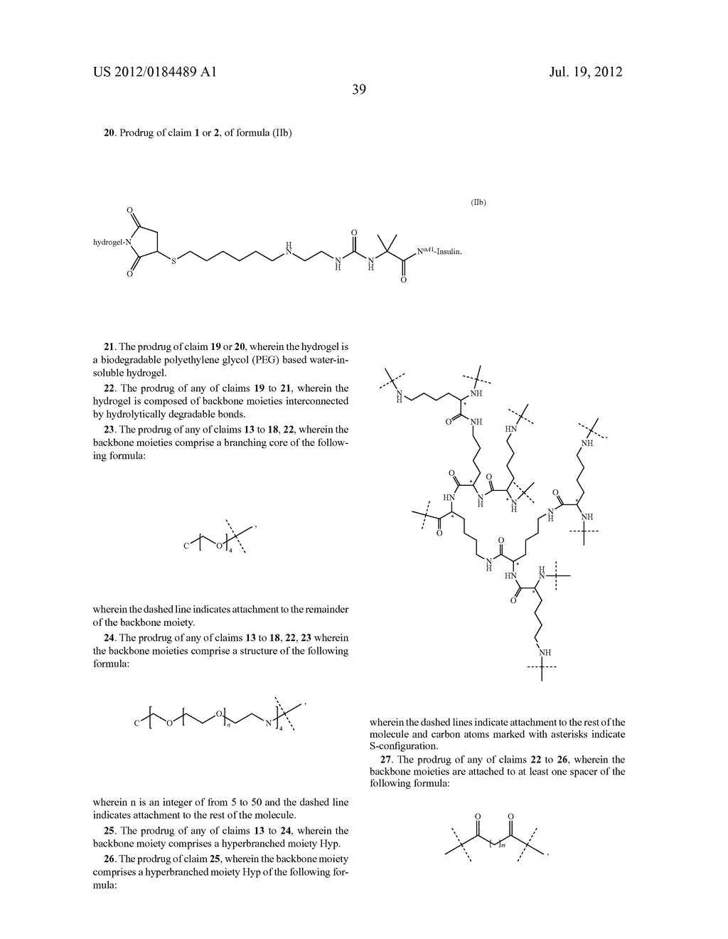 PRODRUGS COMPRISING AN INSULIN LINKER CONJUGATE - diagram, schematic, and image 50