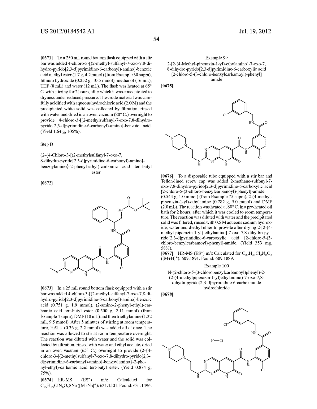 PYRIDO PYRIMIDINES - diagram, schematic, and image 55