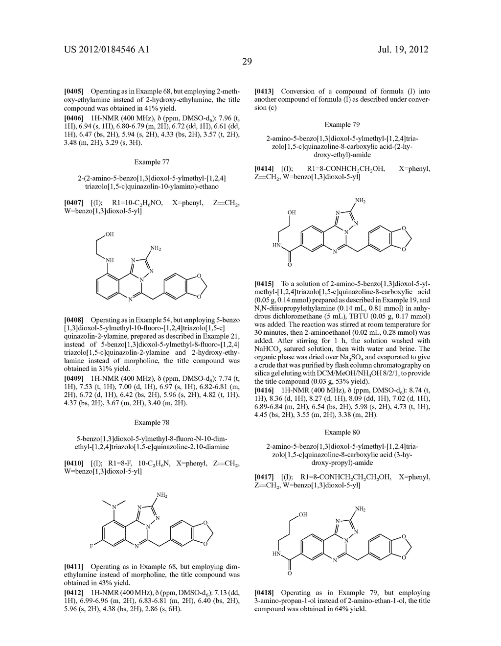 [1,2,4]TRIAZOLO [1,5-C]PYRIMIDINE DERIVATIVES AS HSP90 MODULATORS - diagram, schematic, and image 30