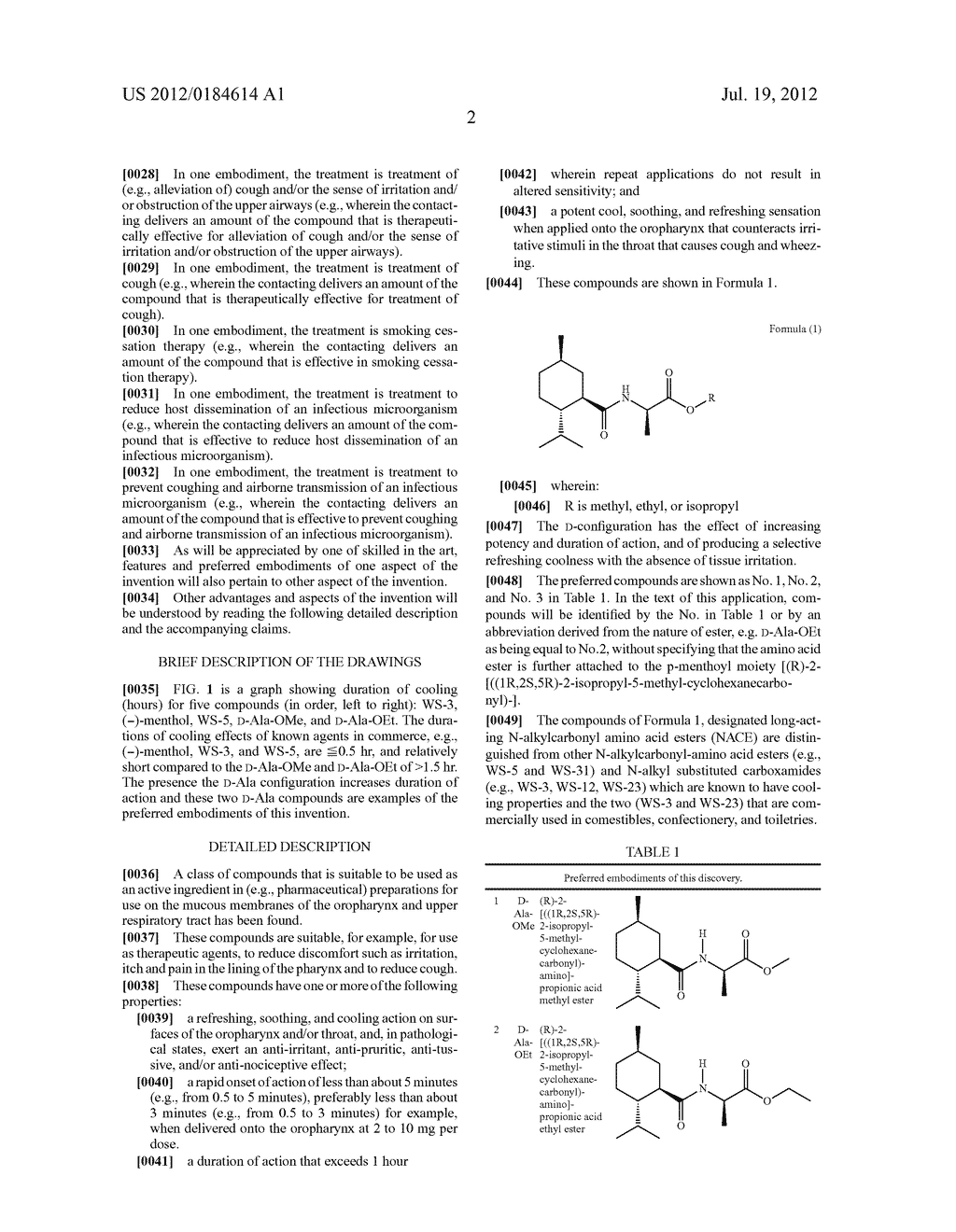 N-alkylcarbonyl-amino acid ester compounds and their use for cough and     pharyngitis - diagram, schematic, and image 04