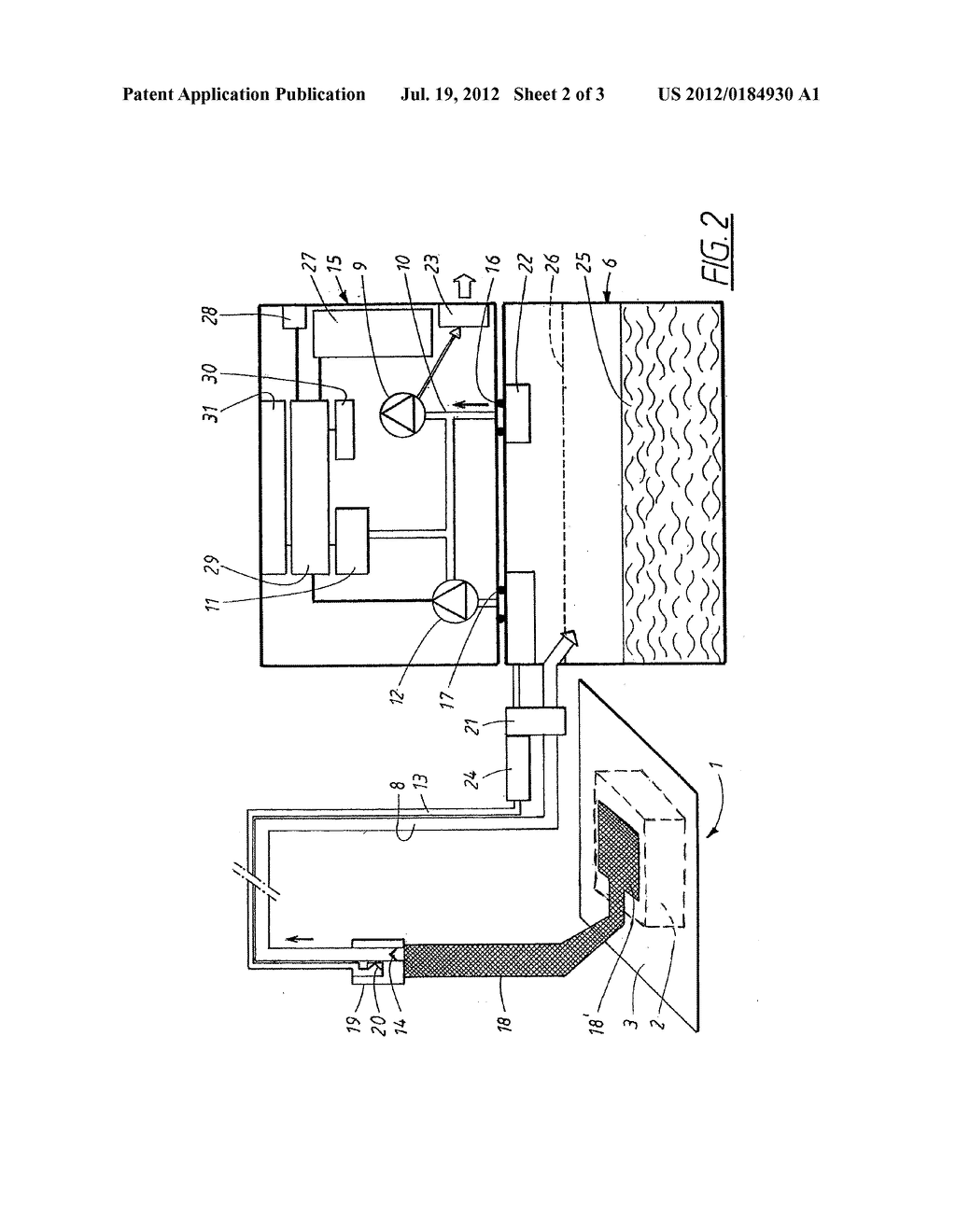 APPARATUS AND METHOD FOR CONTROLLING THE NEGATIVE PRESSURE IN A WOUND - diagram, schematic, and image 03
