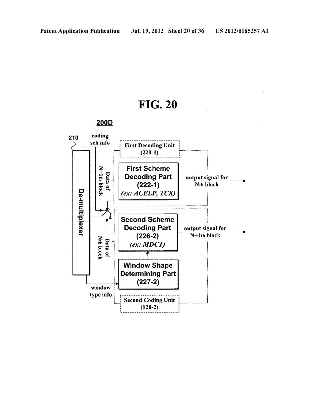 METHOD AND AN APPARATUS FOR PROCESSING AN AUDIO SIGNAL - diagram, schematic, and image 21