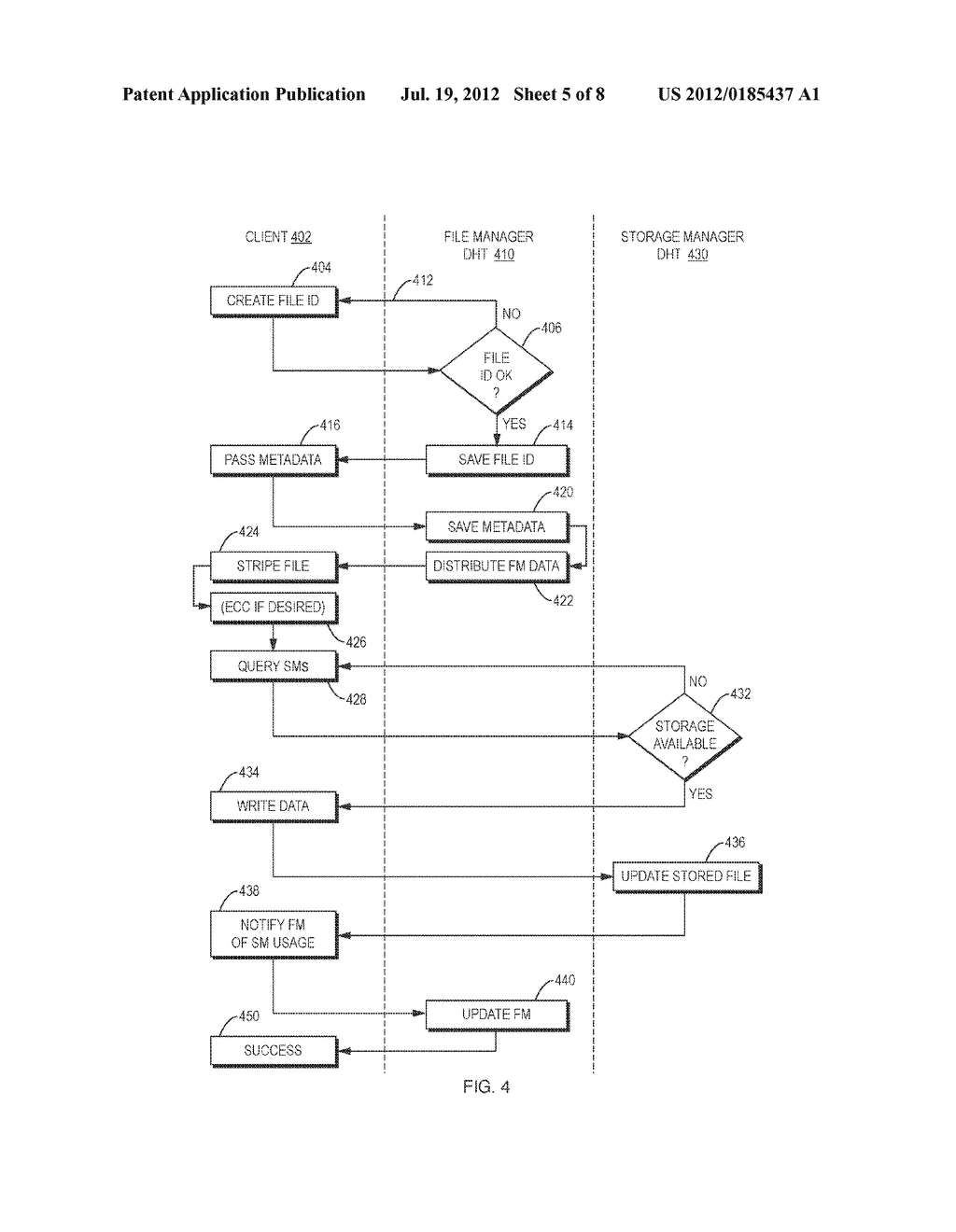 Methods and Apparatus for Distributed Data Storage - diagram, schematic, and image 06