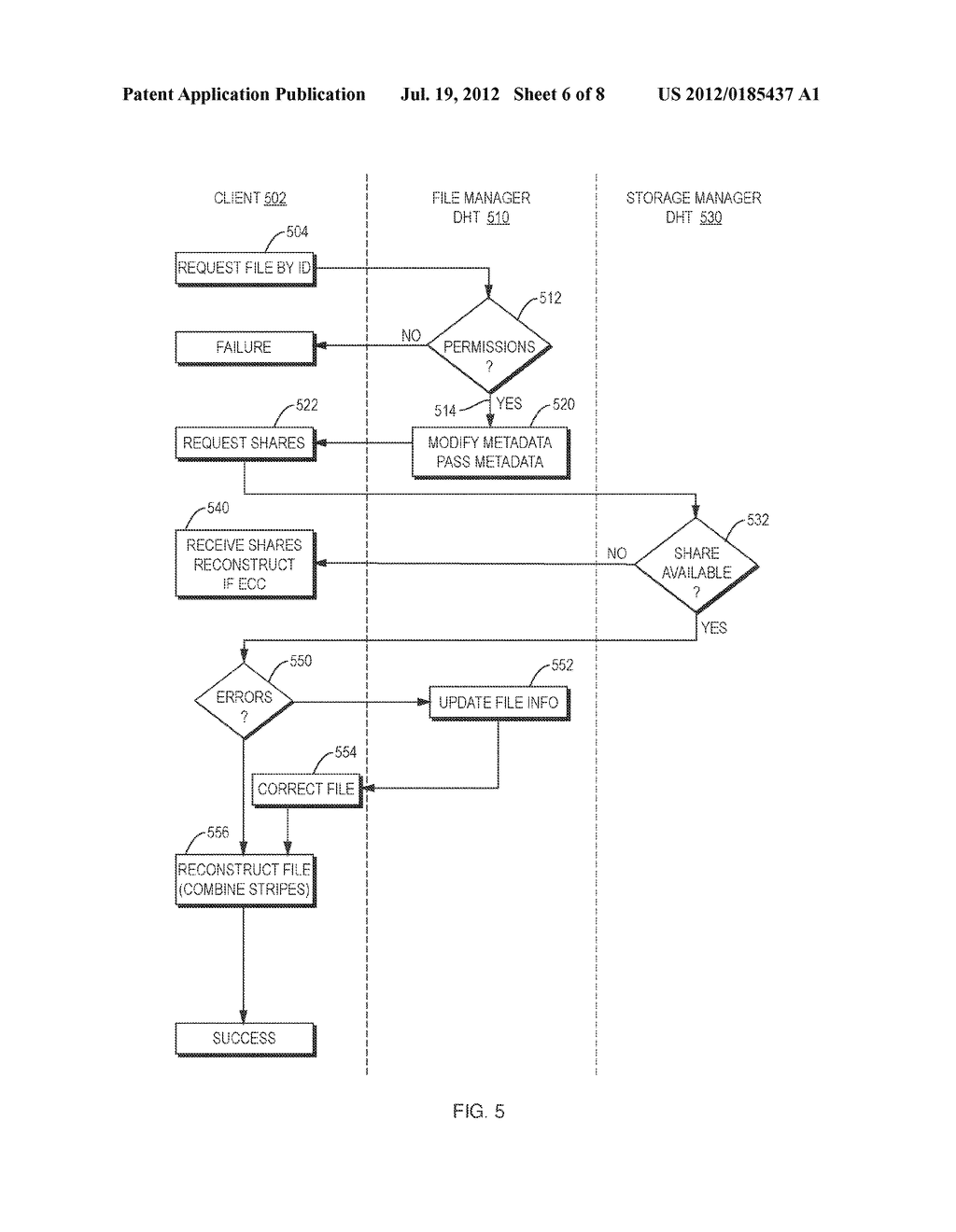 Methods and Apparatus for Distributed Data Storage - diagram, schematic, and image 07