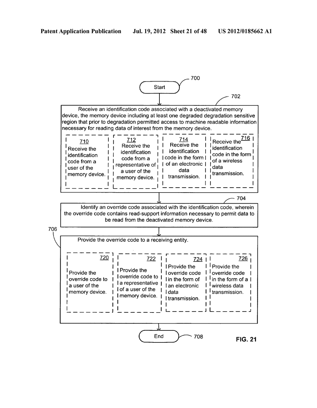 Limited use data storing device - diagram, schematic, and image 22