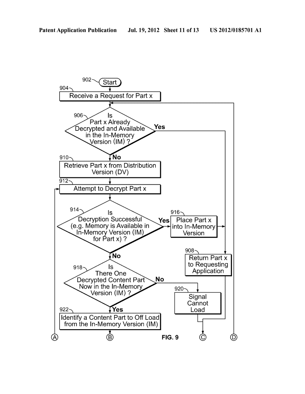 DOCUMENT SECURITY SYSTEM AND METHOD - diagram, schematic, and image 12