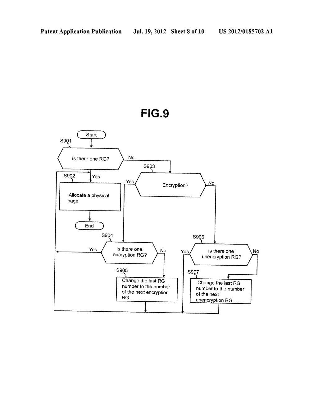STORAGE CONTROL APPARATUS TO WHICH THIN PROVISIONING IS APPLIED - diagram, schematic, and image 09