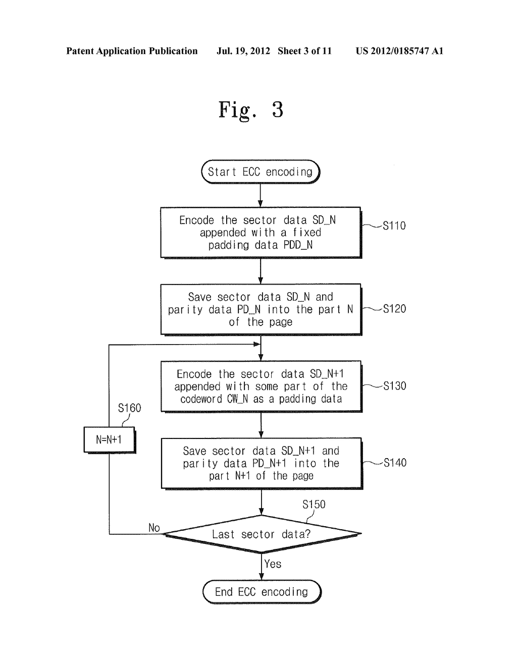 METHODS OF ENCODING/DECODING FOR ERROR CORRECTION CODE UTILIZING     INTERDEPENDENT PORTIONS OF CODEWORDS AND RELATED CIRCUITS - diagram, schematic, and image 04