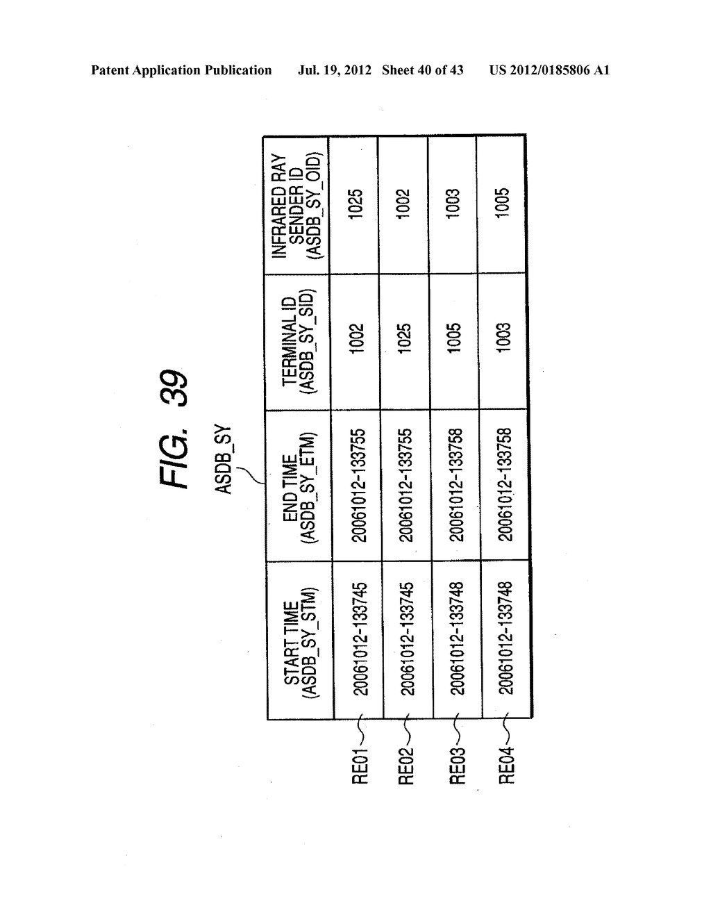 INTERACTION DATA DISPLAY APPARATUS, PROCESSING APPARATUS AND METHOD FOR     DISPLAYING THE INTERACTION DATA - diagram, schematic, and image 41