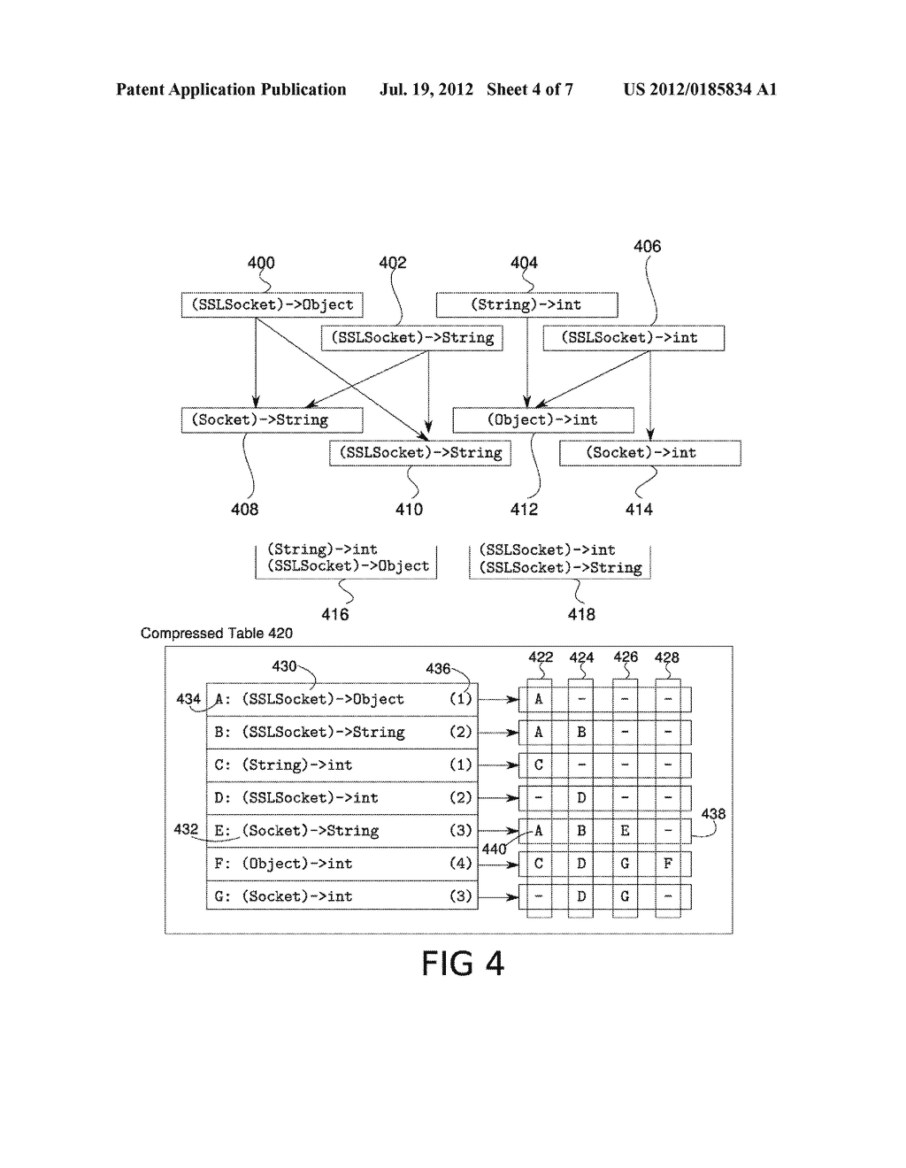 SYSTEM AND METHOD FOR EFFICIENT COMPILATION AND INVOCATION OF FUNCTION     TYPE CALLS - diagram, schematic, and image 05