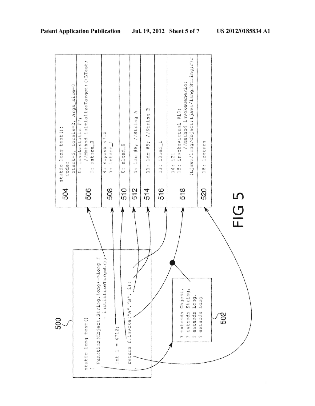 SYSTEM AND METHOD FOR EFFICIENT COMPILATION AND INVOCATION OF FUNCTION     TYPE CALLS - diagram, schematic, and image 06