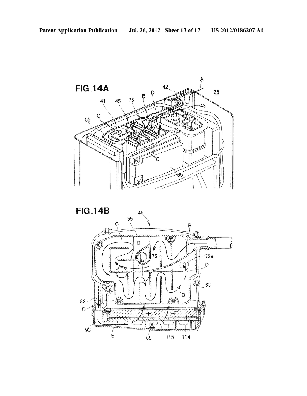 AIR CLEANER DEVICE - diagram, schematic, and image 14