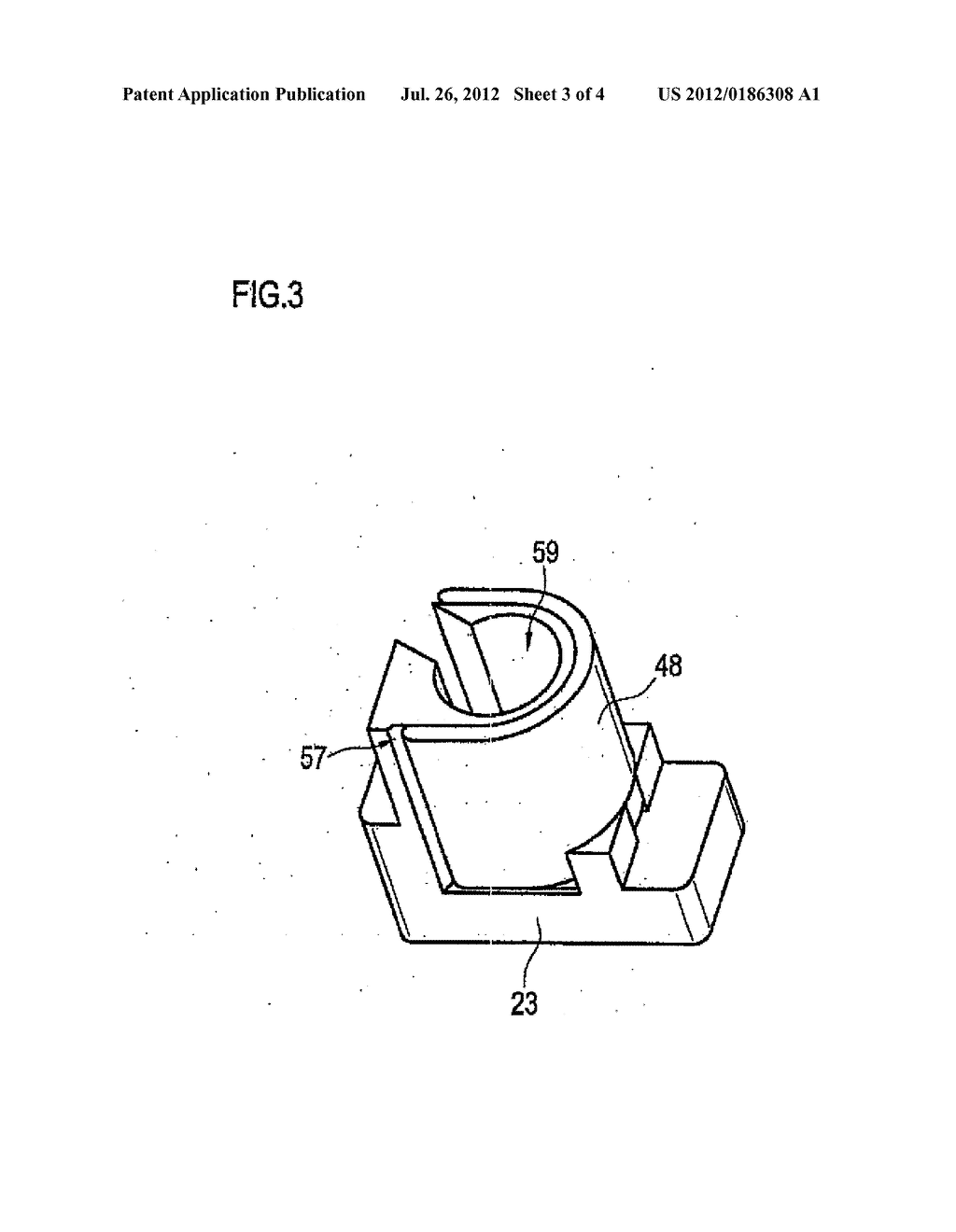 Padlock for securing and monitoring a switch - diagram, schematic, and image 04