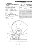 TAPE AFFIXING APPARATUS FOR BAND-SHAPED ACCESSORY diagram and image