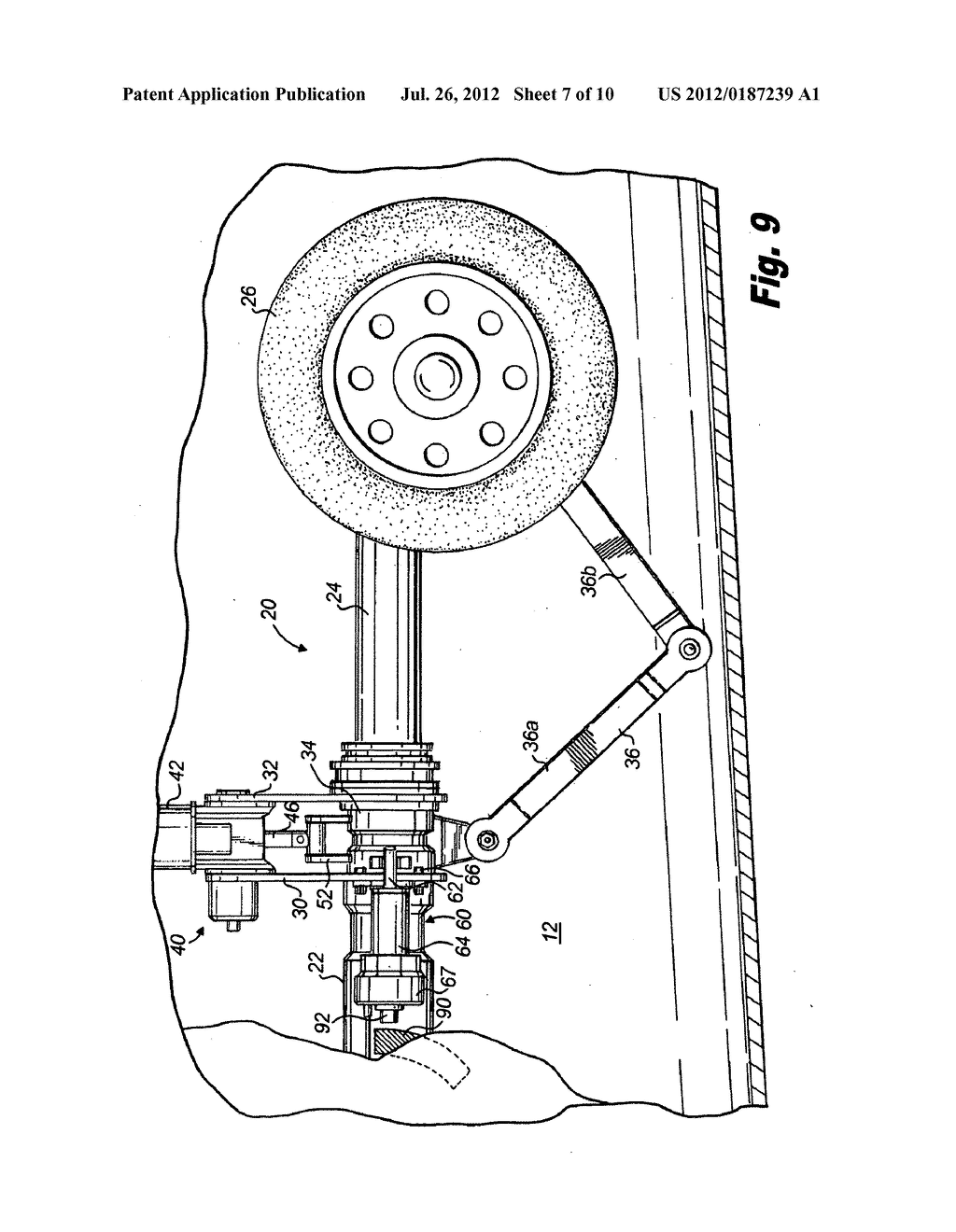 20120187239_08 steering collar locking mechanism for retractable aircraft nose