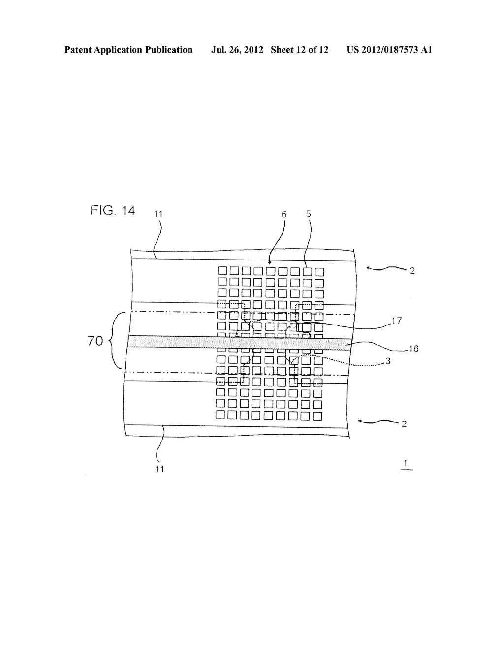 METHOD FOR MANUFACTURING SEMICONDUCTOR DEVICE, SEMICONDUCTOR CHIP, AND     SEMICONDUCTOR WAFER - diagram, schematic, and image 13