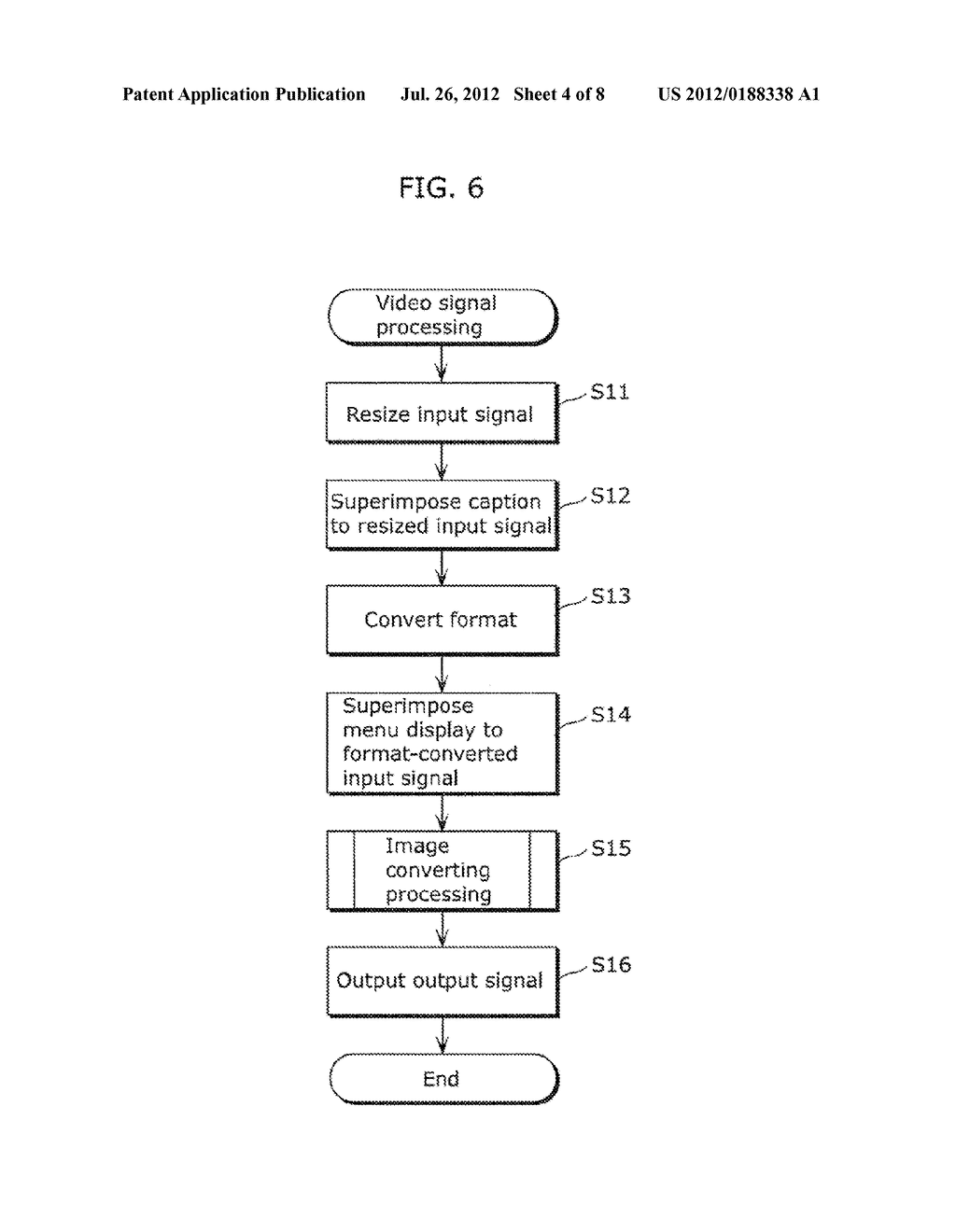 VIDEO SIGNAL PROCESSING APPARATUS AND VIDEO SIGNAL PROCESSING METHOD - diagram, schematic, and image 05