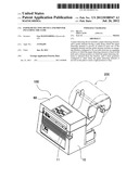PAPER DETECTING DEVICE AND PRINTER INCLUDING THE SAME diagram and image