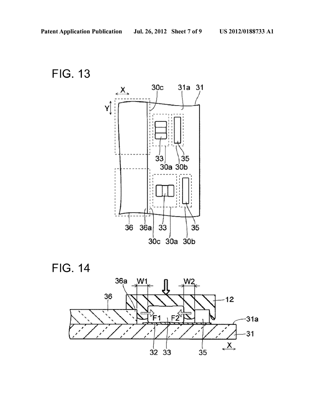 SUBSTRATE MOUNTING STRUCTURE, DISPLAY DEVICE EQUIPPED THEREWITH, AND     SUBSTRATE MOUNTING METHOD - diagram, schematic, and image 08