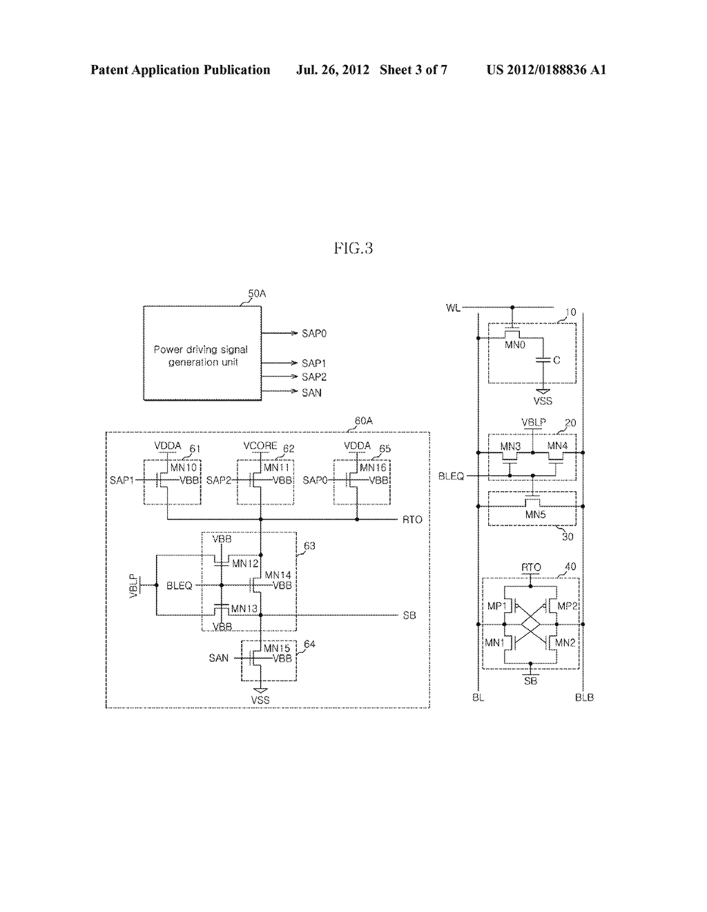 SEMICONDUCTOR MEMORY APPARATUS - diagram, schematic, and image 04