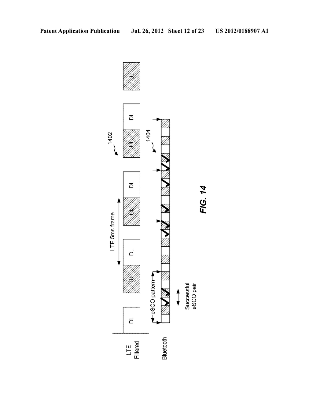 METHOD AND APPARATUS TO FACILITATE SUPPORT FOR MULTI-RADIO COEXISTENCE - diagram, schematic, and image 13