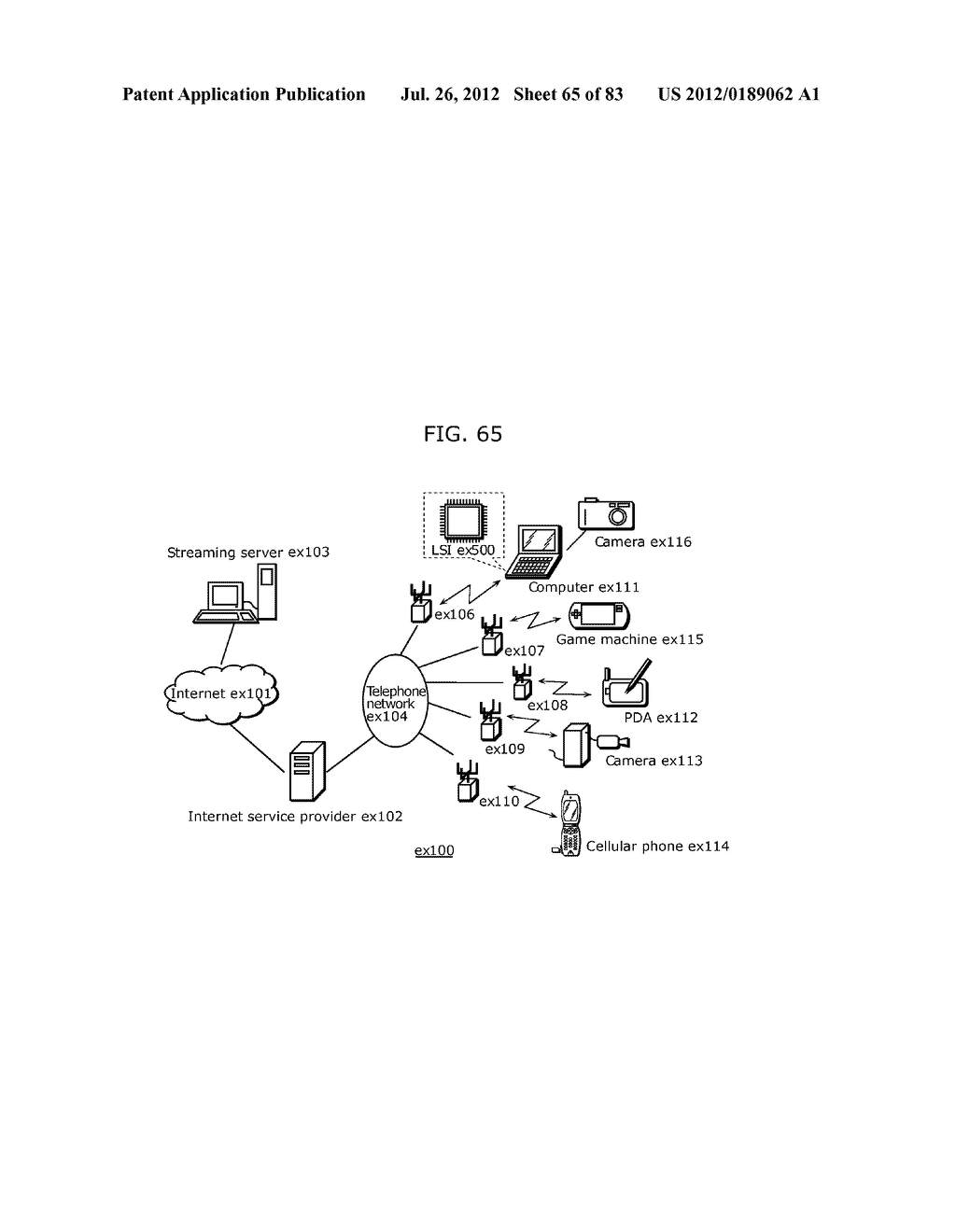 MOVING PICTURE CODING METHOD, MOVING PICTURE CODING APPARATUS, MOVING     PICTURE DECODING METHOD, MOVING PICTURE DECODING APPARATUS, AND MOVING     PICTURE CODING AND DECODING APPARATUS - diagram, schematic, and image 66